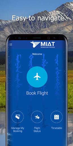 MIAT Mongolian Airlines screenshot 1