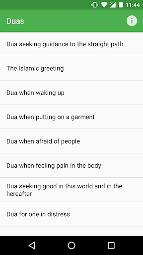 Duas - Supplications for Muslims by Bright Light Apps (Google Play