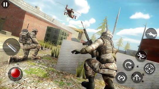 Modern commando Assassin Missions Mod Apk (God Mode + No Ads) 3