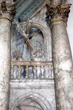 Photo: Grabmal des Bamberger Fürstbischofs Ernst v. Mengersdorf aus der Zeit um 1591 in der St.-Michaels-Kirche zu Bamberg. Detail