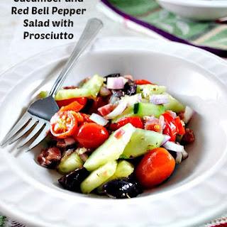Super Fresh Cucumber and Bell Pepper Salad