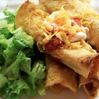 Skinny Chicken Taquitos
