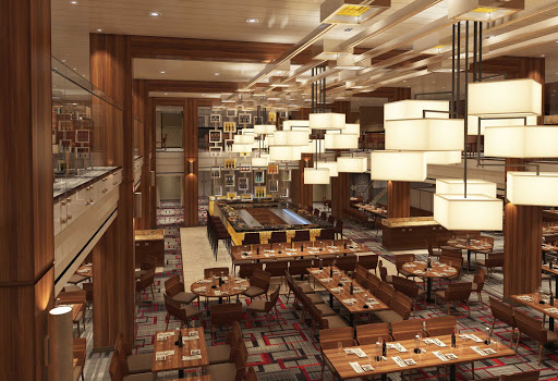 carnival-horizon-aft-restaurant.jpg - Smart casual dress attire is suggested for the main dining room at the aft of Carnival Horizon.