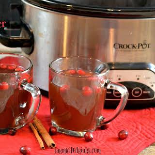 Crock Pot Cranberry Cider.