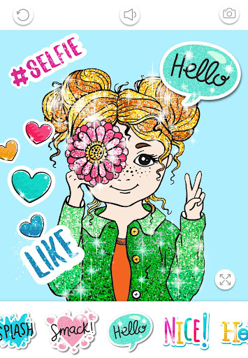 Girls Coloring Book for Kids Glitter apkpoly screenshots 7
