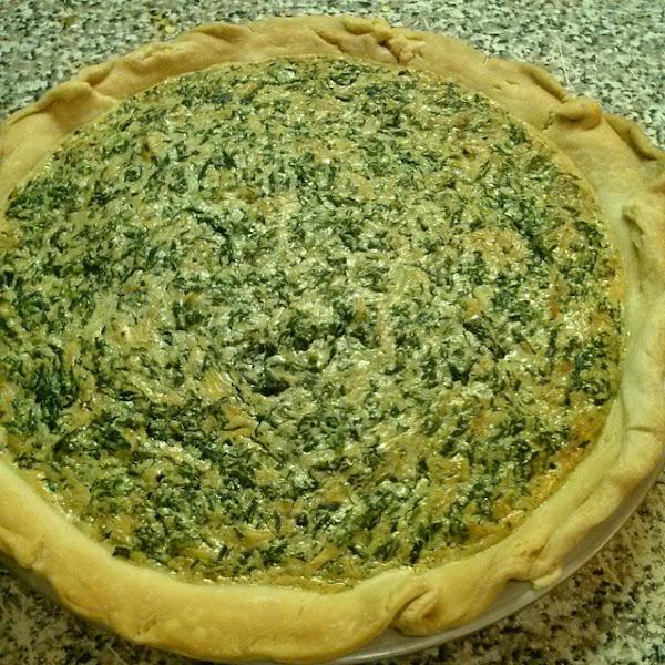 Momma's Spinach Pie Recipe