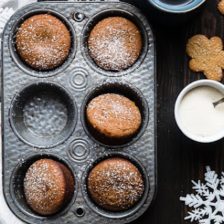 Best Healthy Gluten Free Gingerbread Muffins.