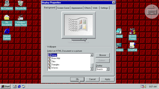 Win 98 Simulator  screenshots 7
