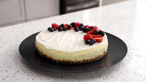 New York Style Cheesecake (without Sour Cream)