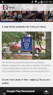 News 5 WCYB.com Mobile - screenshot thumbnail