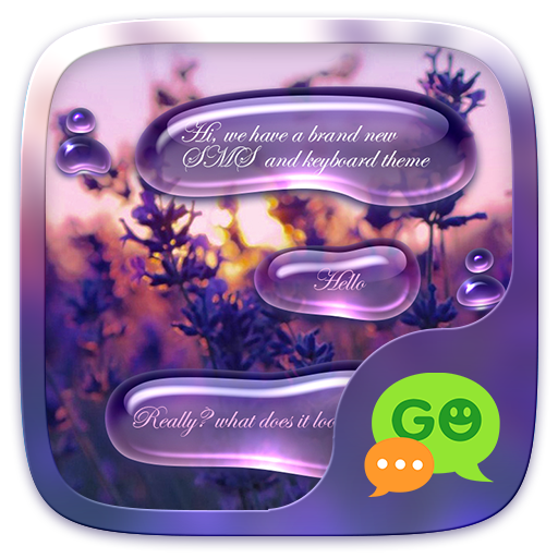 GO SMS LAVENDER THEME file APK for Gaming PC/PS3/PS4 Smart TV
