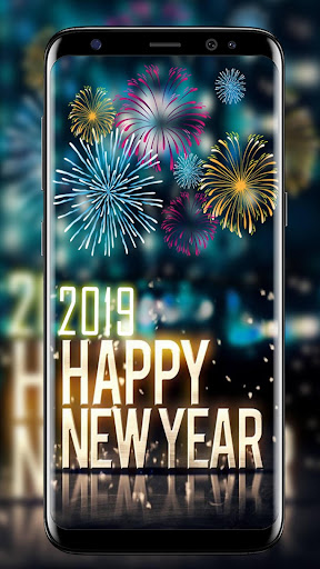 New Year Wallpaper 2019 ud83cudf89 Happy New Year GIF 2019 1.1 screenshots 2