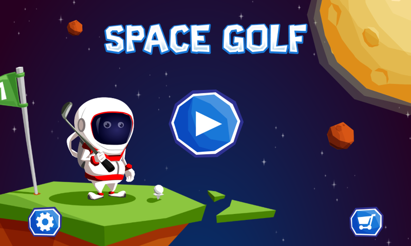 Space Golf Galaxy- screenshot