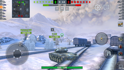 World of Tanks Blitz  gameplay | by HackJr.Pw 6