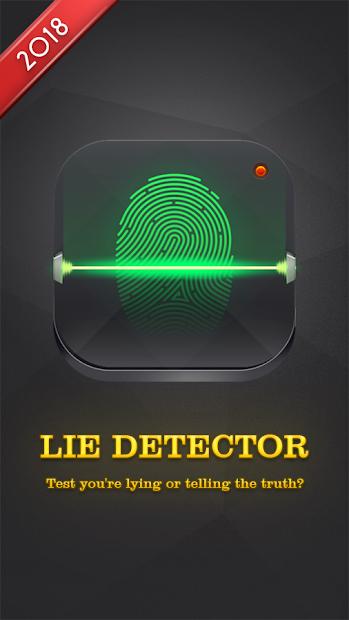 Lie Detector Test Prank Android App Screenshot