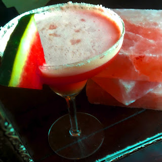 Spiced Watermelon Margarita.