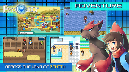 EvoCreo – Lite: A free monster battle RPG App Latest Version Download For Android and iPhone 6