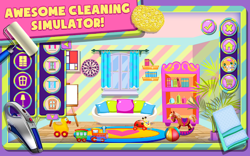 baby room makeover game screenshot thumbnail - Baby Room Cleaning Games