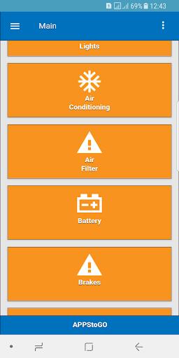 Car Manual - Problems and Repairs  screenshots 2