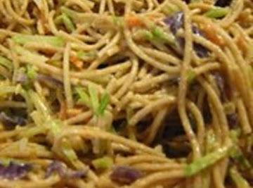 Peanut-ginger Noodles Recipe