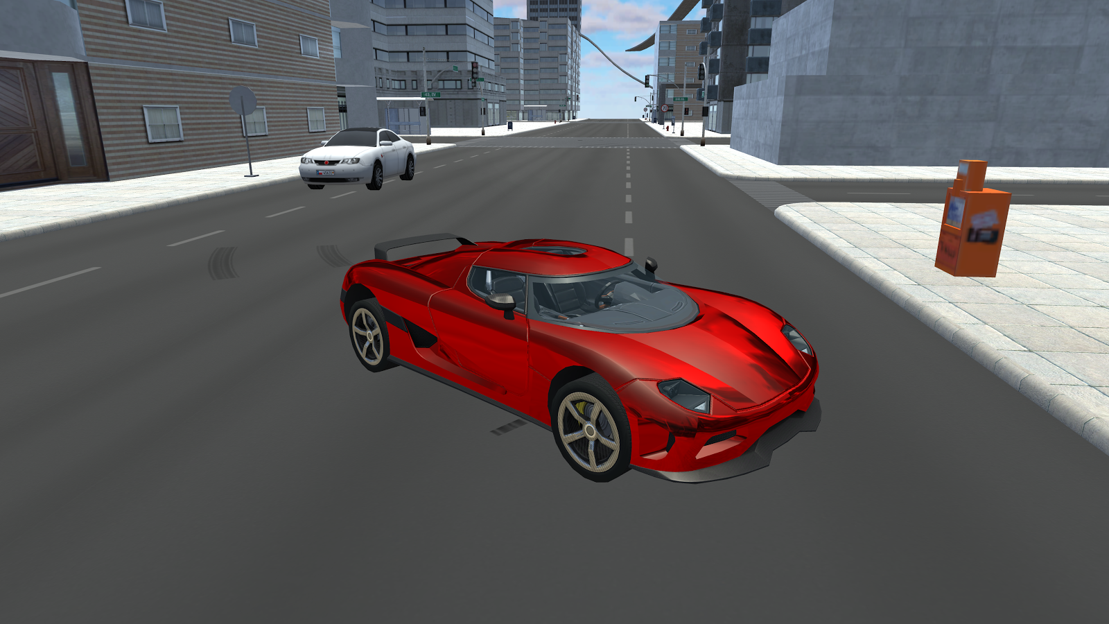 Extreme Car Driving Simulator 3D- screenshot