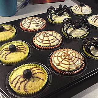 German Halloween Muffin.