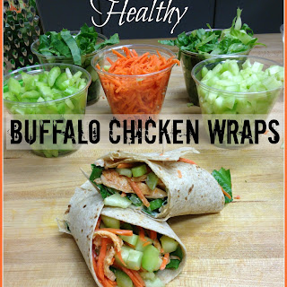 Healthy Buffalo Chicken Wraps Recipe