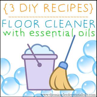 DIY Essential Oil Floor Cleaner Recipe