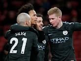 Manchester City won met gemak op het veld van Arsenal