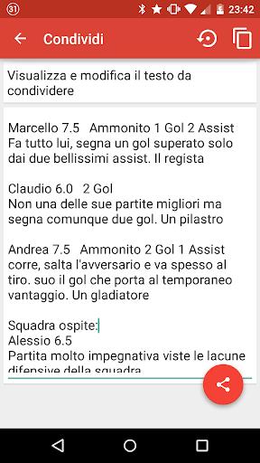 【免費運動App】Formazioni Calcetto-APP點子