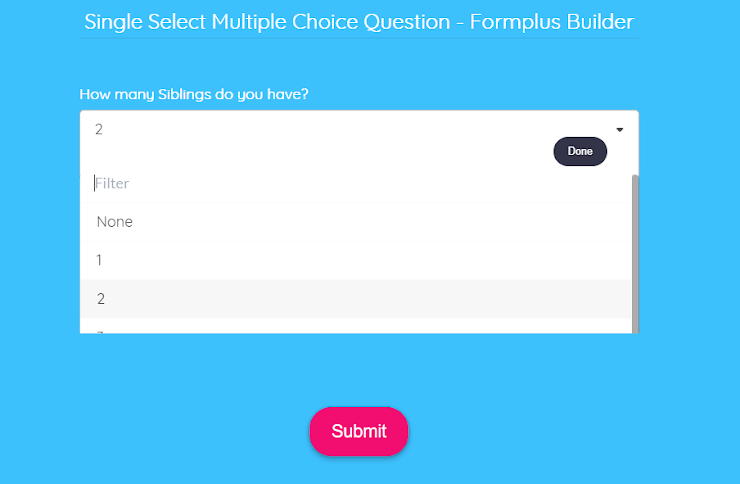 single-select-multiple-choice-question