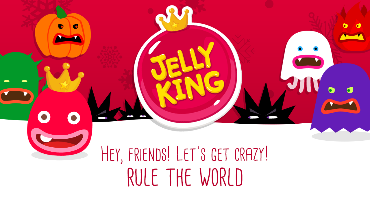 JellyKing : Rule The World- screenshot