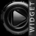 Poweramp widget Black Glow icon