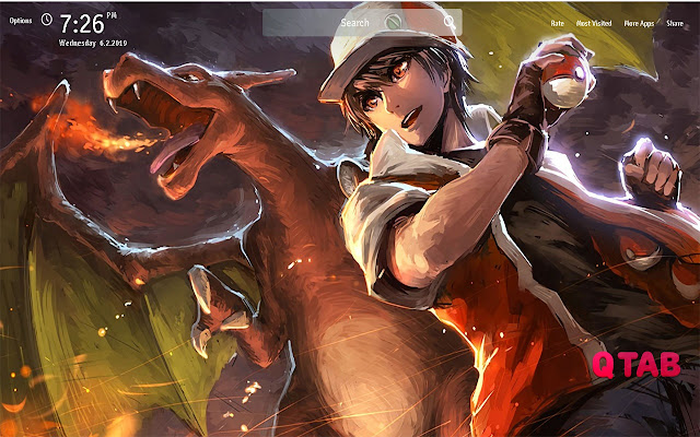 Pokemon Trainer Red Wallpapers