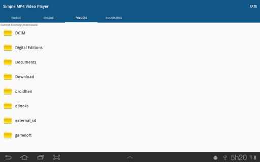 Simple MP4 Video Player 3.1.0 screenshots 8