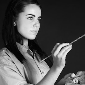 by Frodi Brinks - People Portraits of Women