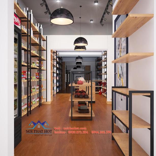 Thiết kế cửa hàng xuất nhập khẩu châu âu