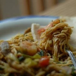 Mie Goreng - Indonesian Fried Noodles.