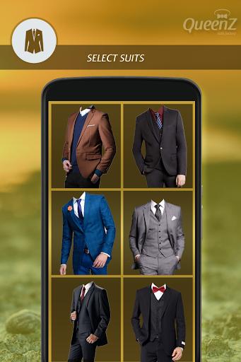 Man Stylish Photo Suit