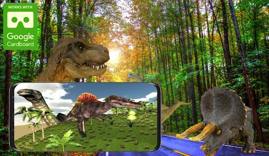 VR Dinosaurs World Jurassic Island - náhled