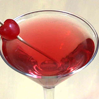 Chocolate Cherry Cha-Cha {MixThatDrink Original}.
