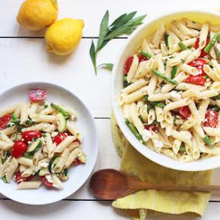 Grilled Spring Veggie Pasta Salad