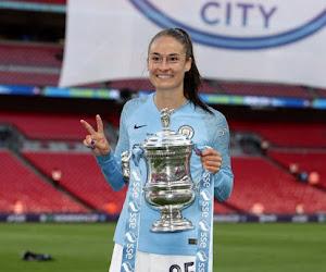 Tessa Wullaert pakt twee prijzen in eerste seizoen bij Manchester City, maar is toch ontgoocheld