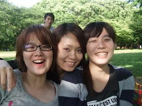Photo: 白癡查弟在後面扮鬼臉我們都不知