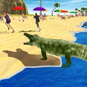Angry Crocodile Attack Sim 3D
