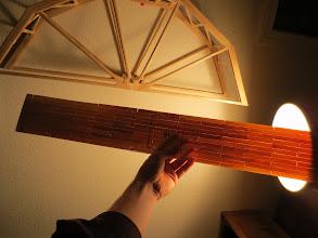 Photo: It's so thin it's translucent.