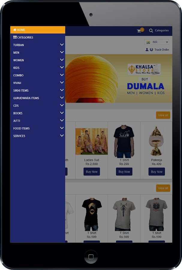 Khalsa Store- screenshot