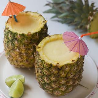Fancy-Ass Frozen Pineapple Daquiris