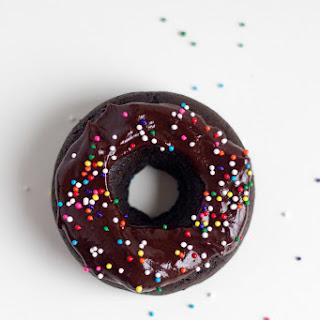 Dark Chocolate Coconut Donuts (vegan, gluten-free)