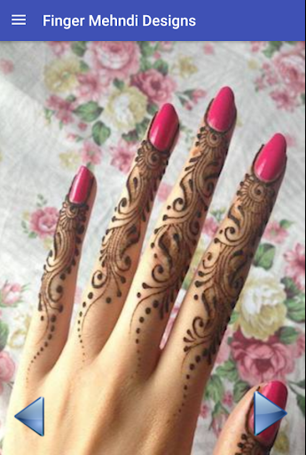 Fingers Mehndi Design 2.1 screenshots 2